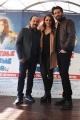 Foto/IPP/Gioia Botteghi 25/11/2015 Roma presentazione del film Babbo Natale non viene da Nord, nella foto: Maurizio Casagrande, Morelli e Annalisa