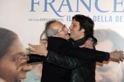 Foto/IPP/Gioia Botteghi 26/11/2015 Roma presentazione del film Chiamatemi Francesco, nella foto:  SERGIO HERNÁNDEZ, RODRIGO DE LA SERNA
