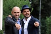 Foto/IPP/Gioia Botteghi 27/11/2015 Roma presentazione del film un posto sicuro, nella foto il regista Francesco Ghiaccio, con Marco D'Amore