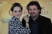 Foto/IPP/Gioia Botteghi 30/11/2015 Roma presentazione del film Il professor cenerentolo, nella foto: Leonardo Pieraccioni, Laura Chiatti
