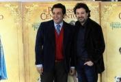 Foto/IPP/Gioia Botteghi 30/11/2015 Roma presentazione del film Il professor cenerentolo, nella foto: Leonardo Pieraccioni, Flavio Insinna