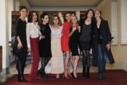 Foto/IPP/Gioia Botteghi 03/12/2015 Roma presentazione della fiction rai uno IL PARADISO DELLE DONNE, nella foto:tutto il cast femminile