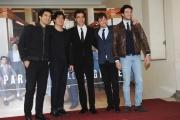 Foto/IPP/Gioia Botteghi 03/12/2015 Roma presentazione della fiction rai uno IL PARADISO DELLE DONNE, nella foto:tutto il cast maschile
