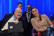 Foto/IPP/Gioia Botteghi 03/12/2015 Roma  puntata di Maurizio Costanzo Show, nella foto:  Belen Rodriguez