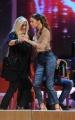 Foto/IPP/Gioia Botteghi 03/12/2015 Roma  puntata di Maurizio Costanzo Show, nella foto:  Belen Rodriguez e Mara Venier