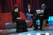Foto/IPP/Gioia Botteghi 03/12/2015 Roma  puntata di Maurizio Costanzo Show, nella foto:   Gina Lollobrigida