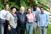 Foto/IPP/Gioia Botteghi 04/12/2015 Roma presentazione della fiction rai uno Le nozze di Laura, nella foto:  il regista Pupi Avati ed il cast