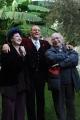 Foto/IPP/Gioia Botteghi 10/12/2015 Roma presentazione del programma rai, Renzo Arbore Day, nella foto Renzo Arbore con  Gianni Minà  e Marisa Laurito