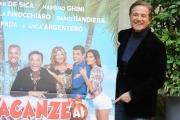 Foto/IPP/Gioia Botteghi 10/12/2015 Roma presentazione del film Vacanze ai caraibi, nella foto  Christian De Sica