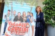Foto/IPP/Gioia Botteghi 10/12/2015 Roma presentazione del film Vacanze ai caraibi, nella foto Angela Finocchiaro