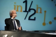 Foto/IPP/Gioia Botteghi 13/12/2015 Roma Salvatore Rossi Direttore generale di Bankitalia ospite da Lucia Annunziata