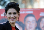 Foto/IPP/Gioia Botteghi 15/12/2015 Roma presentazione del film Natale col Boss, nella foto Giulia Bevilacqua