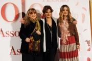 Foto/IPP/Gioia Botteghi 28/12/2015 Roma presentazione del film Assolo, nella foto: Piera degli Esposti Carolina Crescentini e la regista Laura Morante