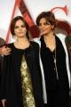Foto/IPP/Gioia Botteghi 28/12/2015 Roma presentazione del film Assolo, nella foto:  la regista Laura Morante con la figlia Eugenia Costantini