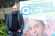 Foto/IPP/Gioia Botteghi 29/12/2015 Roma presentazione del film Quo Vado?, nella foto: Checco Zalone