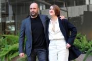 Foto/IPP/Gioia Botteghi 29/12/2015 Roma presentazione del film Quo Vado?, nella foto: Checco Zalone con Eleonora Giovanardi