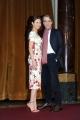 Foto/IPP/Gioia Botteghi 11/01/2016 Roma presentazione del film LA CORRISPONDENZA, nella foto:   Jeremy Irons e Olga Kurylenko