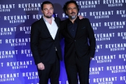 Foto/IPP/Gioia Botteghi 15/01/2016 Roma presentazione del film Revenant, nella foto:  Leonardo DiCaprio e Alejandro G. Iñárritu