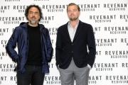 Foto/IPP/Gioia Botteghi 16/01/2016 Roma presentazione del film Revenant, nella foto:  Leonardo DiCaprio e Alejandro G. Iñárritu