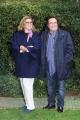 Foto/IPP/Gioia Botteghi 20/01/2016 Roma presentazione  del programma di raiuno COSI LONTANI COSI VICINI, nella foto I due conduttori, Romina e Al bano