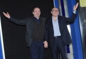 Foto/IPP/Gioia Botteghi 26/01/2016 Roma presentazione del film L'abbiamo fatta grossa, nella foto: Carlo Verdone, Antonio Albanese
