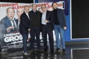 Foto/IPP/Gioia Botteghi 26/01/2016 Roma presentazione del film L'abbiamo fatta grossa, nella foto:  Luigi e Aurelio De Laurentis Carlo Verdone, Antonio Albanese