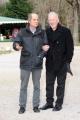 Foto/IPP/Gioia Botteghi 27/01/2016 Roma presentazione della fiction di raiuno LUISA SPAGNOLI, nella foto: Franco Castellano,  Lodovico Gasperini registi