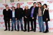Foto/IPP/Gioia Botteghi 28/01/2016 Roma presentazione del film The Hateful Eight, nella foto: il regista QUENTIN TARANTINO,gli interpreti KURT RUSSELL, MICHAEL MADSEN e il Maestro ENNIO MORRICONE ed i produttori