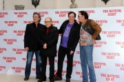 Foto/IPP/Gioia Botteghi 28/01/2016 Roma presentazione del film The Hateful Eight, nella foto: il regista QUENTIN TARANTINO,gli interpreti KURT RUSSELL, MICHAEL MADSEN e il Maestro ENNIO MORRICONE
