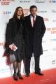 Foto/IPP/Gioia Botteghi 28/01/2016 Roma red carpet del film The Hateful Eight, nella foto: Massimo Poggio e signora