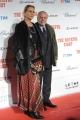 Foto/IPP/Gioia Botteghi 28/01/2016 Roma red carpet del film The Hateful Eight, nella foto: Aurelio de Laurentis con signora