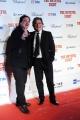 Foto/IPP/Gioia Botteghi 28/01/2016 Roma presentazione del film The Hateful Eight, nella foto: il regista QUENTIN TARANTINO,gli interpreti KURT RUSSELL