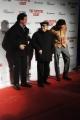 Foto/IPP/Gioia Botteghi 28/01/2016 Roma presentazione del film The Hateful Eight, nella foto: il regista QUENTIN TARANTINO,gli interpreti MICHAEL MADSEN e il Maestro ENNIO MORRICONE