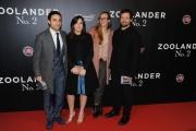 Foto/IPP/Gioia Botteghi 30/01/2016 Roma red carpet del film Fan-Tastic Zoolander Night , nella foto :  Brando e Maria Rosa De Sica con i rispettivi fidanzati/e