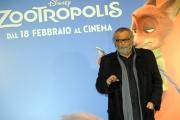 Foto/IPP/Gioia Botteghi 01/02/2016 Roma presentazione del film Zootropolis, nella foto:   Diego Abatantuono