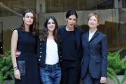 Foto/IPP/Gioia Botteghi 02/02/2016 Roma presentazione del film perfetti sconosciuti, nella foto:   Benedetta Porcaroli,  Anna Foglietta, Alba Rohrwacher, Kasia Smutniak