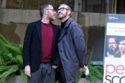 Foto/IPP/Gioia Botteghi 02/02/2016 Roma presentazione del film perfetti sconosciuti, nella foto:  Valerio Mastandrea Marco Giallini
