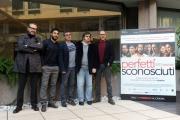 Foto/IPP/Gioia Botteghi 02/02/2016 Roma presentazione del film perfetti sconosciuti, nella foto:   cast maschile