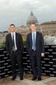 Foto/IPP/Gioia Botteghi 03/02/2016 Roma presentazione del film  Risen_Risorto, nella foto :  i produttori Mickey Liddell e Pete Shilaimon