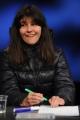 Foto/IPP/Gioia Botteghi 28/02/2016 Roma Lucia Annunziata a IN MEZZ'ORA,presenta i sei candidati alle primarie del PD, nalle foto: Chiara Ferraro
