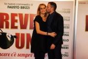 Foto/IPP/Gioia Botteghi 07/03/2016premier del film Forever Young, nella foto : Fausto Brizzi e  moglie Claudia Zanella ( ha partorito 2 giorni fa)