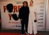 Foto/IPP/Gioia Botteghi 07/03/2016premier del film Forever Young, nella foto : Caterina Sciula e Mario Belardi