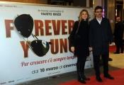 Foto/IPP/Gioia Botteghi 07/03/2016premier del film Forever Young, nella foto : la Ministro Madia con il marito