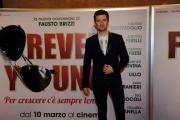 Foto/IPP/Gioia Botteghi 07/03/2016premier del film Forever Young, nella foto : Francesco Sole
