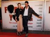 Foto/IPP/Gioia Botteghi 07/03/2016premier del film Forever Young, nella foto :  Emanuele Caserio e Jess