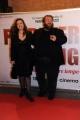 Foto/IPP/Gioia Botteghi 07/03/2016premier del film Forever Young, nella foto :  Stefano Fresi e signora