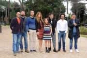 Foto/IPP/Gioia Botteghi 08/03/2016 presentazione del film Bianco di Babbudoiu, nella foto: il cast