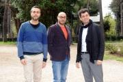 Foto/IPP/Gioia Botteghi 08/03/2016 presentazione del film Bianco di Babbudoiu, nella foto: Stefano e Michele Manca, Roberto Fara