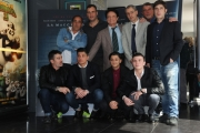 Foto/IPP/Gioia Botteghi 14/03/2016 presentazione del film La macchinazione, nella foto :il cast
