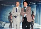 Foto/IPP/Gioia Botteghi 14/03/2016 presentazione del film La macchinazione, nella foto : Massimo Ranieri ed il regista  David Grieco